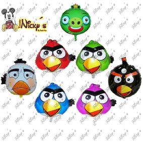 Globos Angry Birds De 50 X45 Cm Fiesta Infantil Cumpleaños