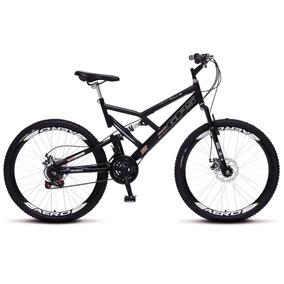 Bicicleta Colli Aro 26 Dp Suspensão Freios Á Disco - 220.11
