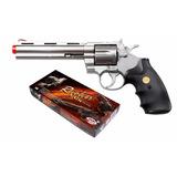Revolver Python Silver 357 Airsoft Uhc 938s 6 Polegadas