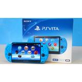: Consola Psvita Slim Aqua Blue Playstation: Bsg