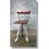 3 Cadeiras Rusticas De Madeira Para Varanda Bistrô Oferta