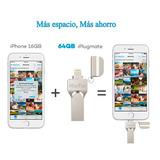 Memoria 64gb Externa Para Iphone Ipad Expansión Dual Usb Xpa