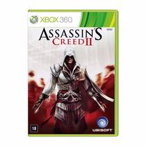 Xbox 360 - Assassins Creed 2 Ii - Original - Mídia Física
