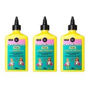 Kit Lola Kids Camomilinha Shampoo & Condic & Creme Pentear.