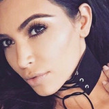 Choker Collar Gargantilla Dama Mujer Kim Kardashian Gamuza