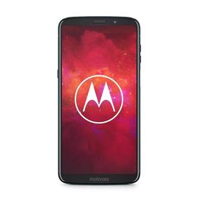 Celular Libre Moto Z3 Play Deep Índigo Negro