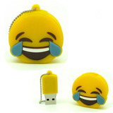Pendrive Emoticón Risa 8 Gb Alta Calidad