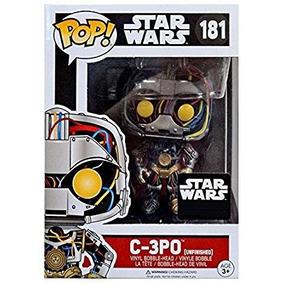 Funko Pop C-3po Head Unfinished #181 - Star Wars
