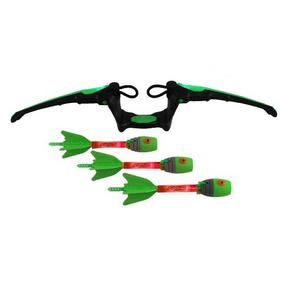 Juego Arco Y Flechas Zing Aire Tormenta Fuego Verde