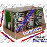 Pack Com 6 Copos Heineken - 99% Reciclado