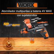 Atornillador Multipuntas A Batería 4v Max - Worx Wx255