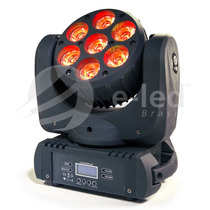 Mini Moving Head Beam 7x30w Rgbw Quadri Led Cree Dmx 200w