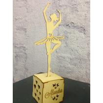 Bailarina De Ballet Corte Láser Mdf 3mm