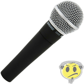 Microfone Shure Sm58 Lc - Loja Credenciada Shure Kadu Som