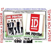 Caderno One Direction Personalizado 10 Materias 200fs Mod 1