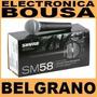 Micrófono Shure Sm58 Dinámico Unidireccional Original