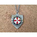 Collar Resident Evil Logo Umbrella Corporation Biohazard