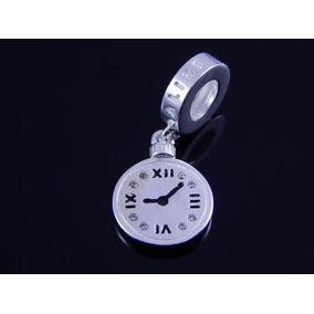 Berloque Relógio Alice Em Prata 925 - Pandora Vivava