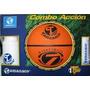 Balon De Basket 7 Con Cooler Y Bomba Combo Accion Tamanaco