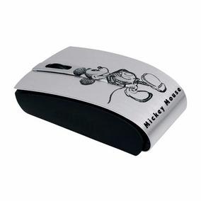 Mouse Optico Mini Usb Prata Mickey