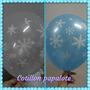 Globos Frozen Elsa Anna Copos Nieve Deco Temática Cumple