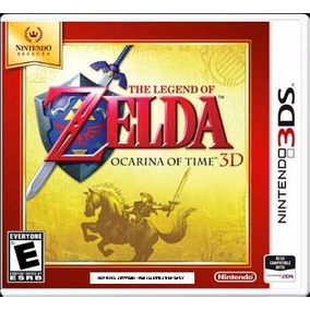 The Legend Of Zelda Ocarina Of Time 3d Nuevo Sellado