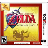 The Legend Of Zelda Ocarina Of Time 3d Nuevo Sellado