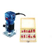 Tupia Manual Bosch Gkf 550 550w Profissional +jg Fresas 12pc