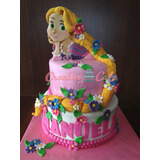 Tortas Princesas, Castillos Rapunzel Blancanieves Cenicienta