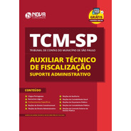 Apostila Tcm-sp 2020 - Auxiliar - Suporte Administrativo