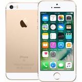 Apple Iphone Se 16gb Dourado 4g 12mx+película Vidro+capa
