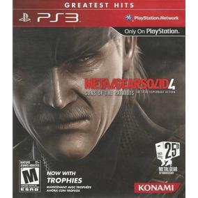 Juego Ps3 Metal Gear Solid 4 - Refurbished Fisico