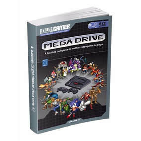 Livro Old Gamer Coleção Consoles Mega Drive Volume 4