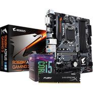 Kit Intel Core I5 8400 Aorus B360m G3 Memoria 8gb Fury Ddr4