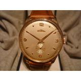 Hermoso Reloj Delbana Antiguo Oro Plaque18k 38mm!! Original