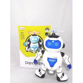 Brinquedo Robô Que Dança E Brilha E Toca Música Dance King