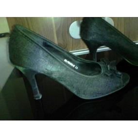 Sandalias Para Damas De Tacón Bajo #35 Y #36