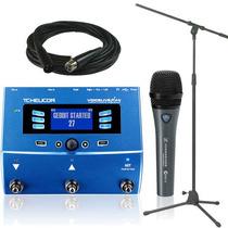 Tc Helicon Voice Live + Sennheiser E835 Fx + Cable Y Soporte