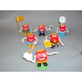 Brinquedo Antigo, Lote 6 Bonecos Do Mecdonalds