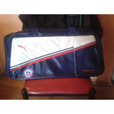 Bolso Puma King Seleccion Chilena (60 Largox30 Alto)