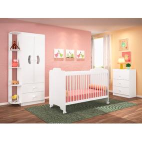 Dormitório Infantil Ternura Branco-flex - Peternella