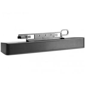 Bocina Bar Hp Lcd Stereo Soporte Para Monitores Conectividad