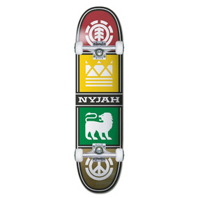 Tabla De Skate Completo Element Nyjah Quadrant Twig 7.5