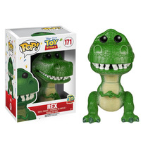 Disney Toy Story Dinossauro Rex Boneco Pop Vinil Funko 10cms