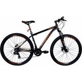 Bicicleta Aro 29 Tsw Mtb Bike Trilha Ride 21v Preta Laranja