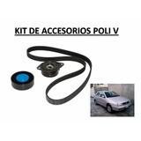 Kit Poli V - Correa Y Tensores Vw Gol-polo 1.9 Diesel