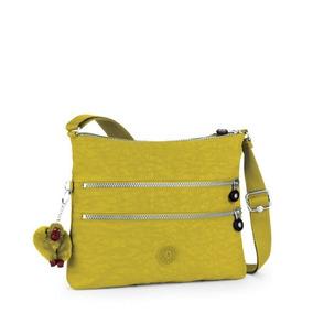 Bolsa Transversal Alvar Amarela Mustard Yellow Kipling