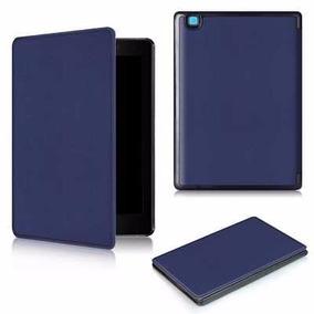 Capa Case Protetora Azul Marinho P/ Kobo Aura One + Brinde