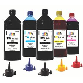 Tinta Compatível Para Epson Ecotank 5 Litros L396 Tw Ink-jet
