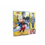Libro Didactico Musica Reloj Mickey Con Sonido Disney